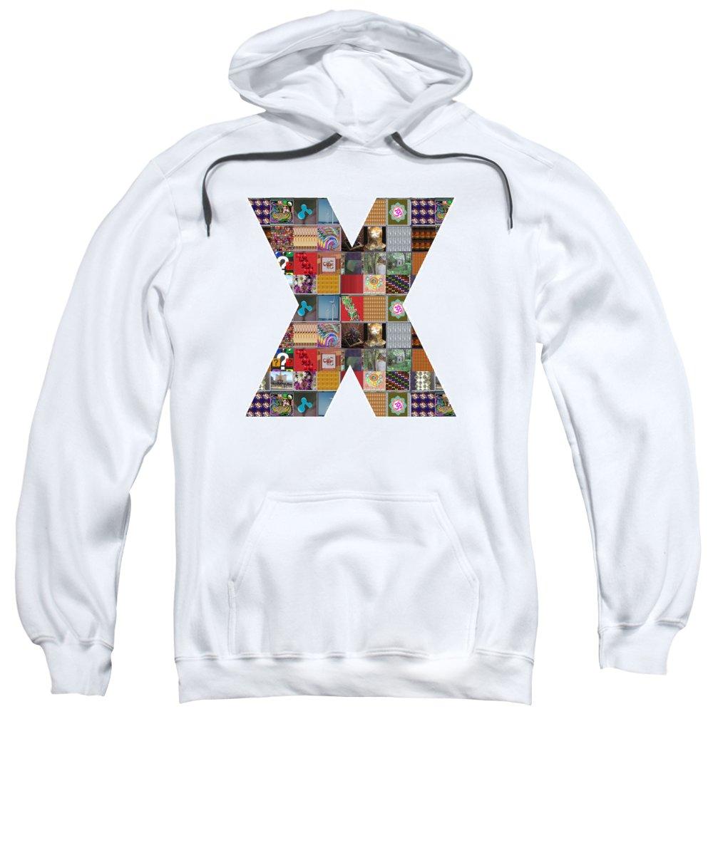 Xxx Sweatshirt featuring the painting Symbol Xxx Yin Yang Showcasing Navinjoshi Gallery Art Icons Buy Faa Products Or Download For Self Pr by Navin Joshi