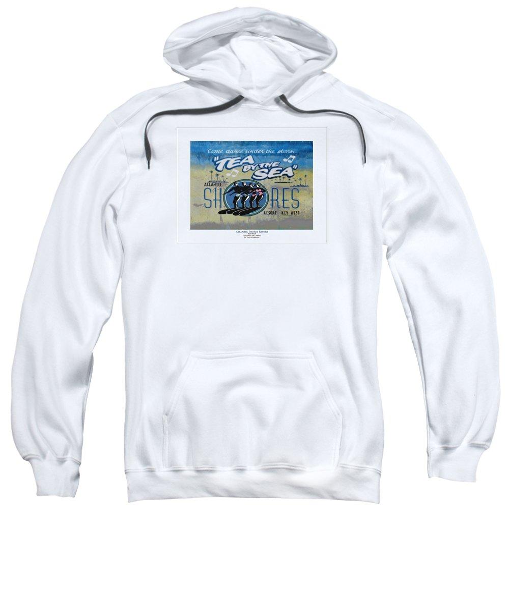 Atlantic Shores Tea Dance Sweatshirt featuring the digital art Tea Dance by Paul Harding
