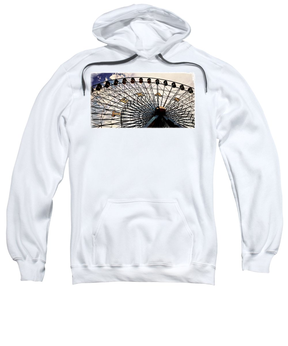 Amusement Sweatshirt featuring the photograph Texas Star by Charles Dobbs