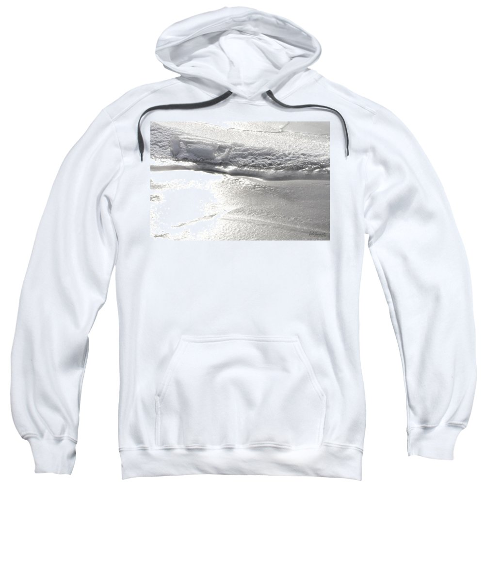 Natural World Sweatshirt featuring the photograph The Depths Of Layers by Urbanmoon Photography
