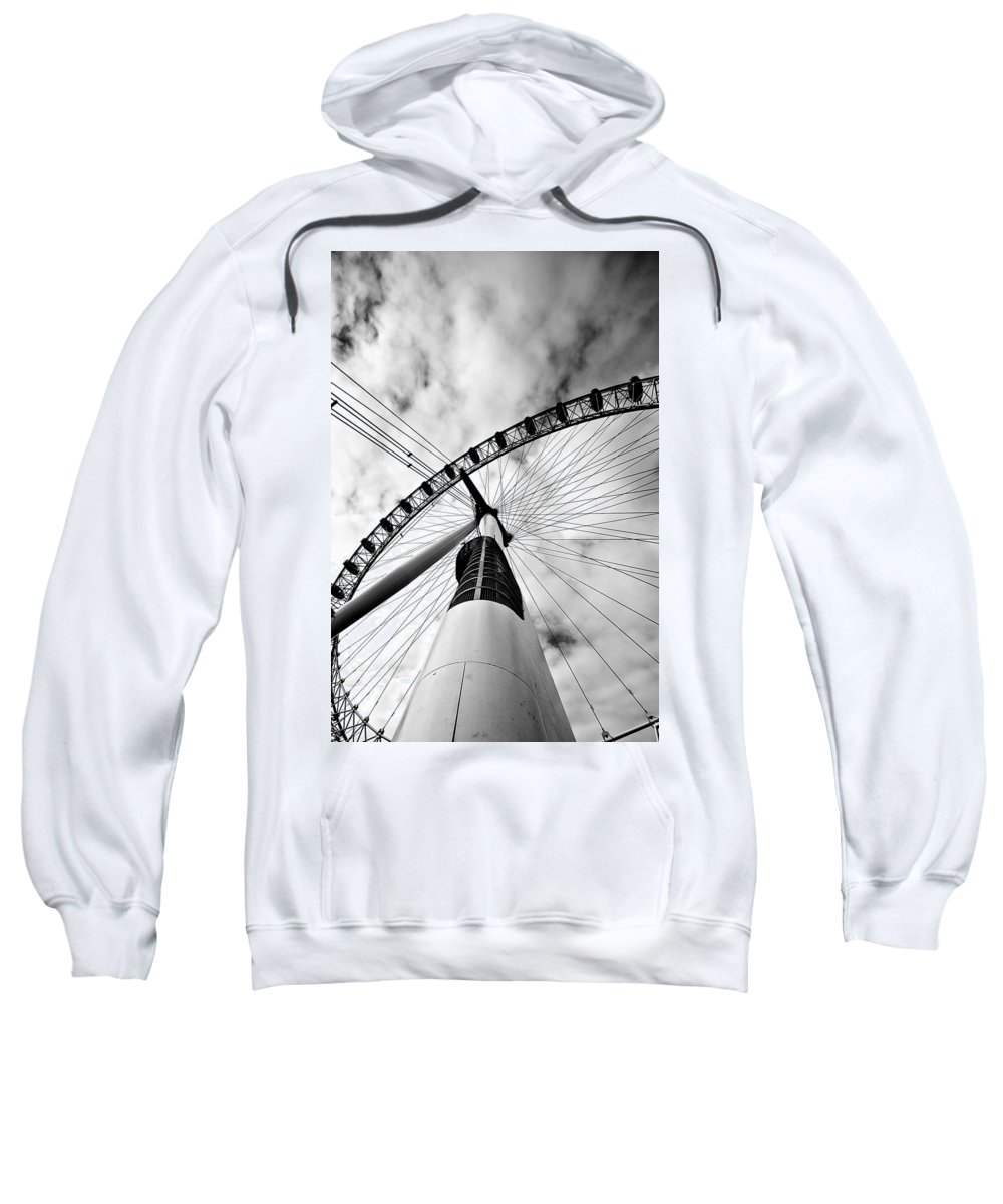 London Sweatshirt featuring the photograph The Eye by Jorge Maia