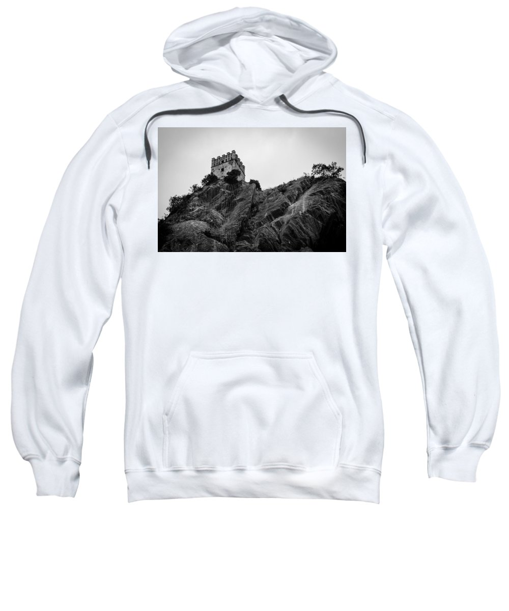 Landscape Sweatshirt featuring the photograph The Fortress by Andrea Mazzocchetti