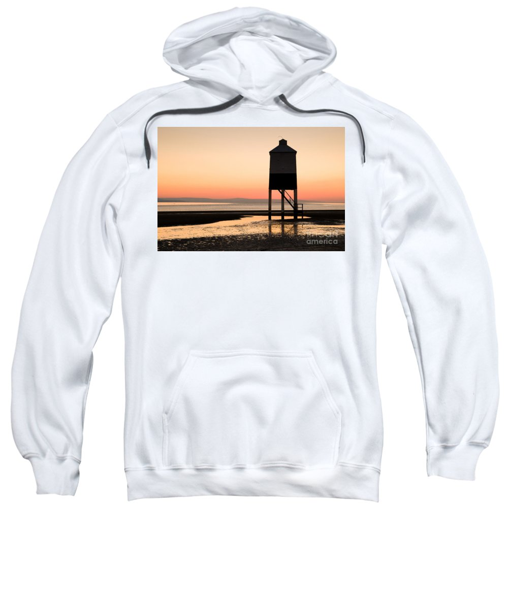 19th Sweatshirt featuring the photograph The Golden Hour by Anne Gilbert