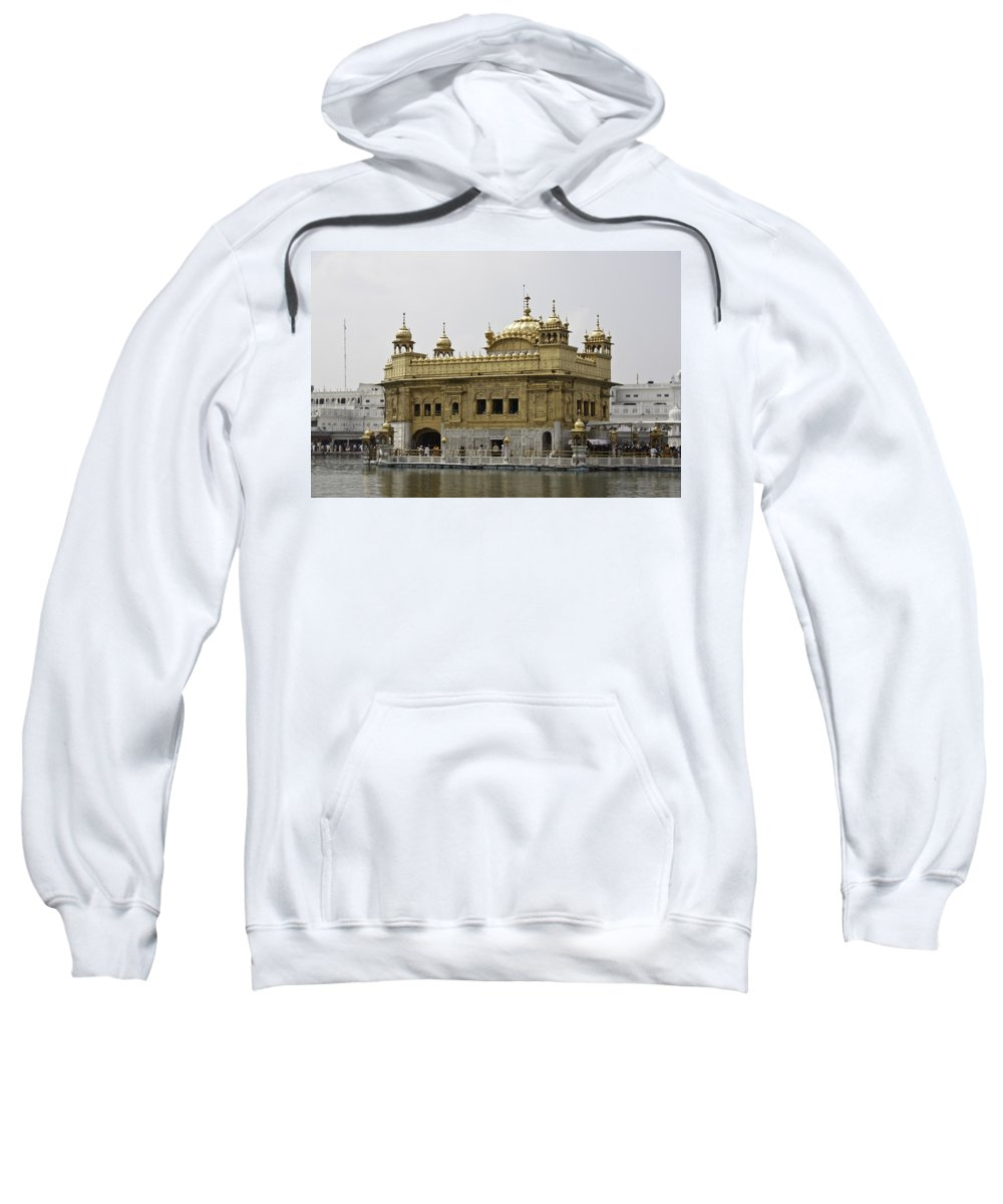 Amrit Sarovar Sweatshirt featuring the photograph The Golden Temple In Amritsar by Ashish Agarwal