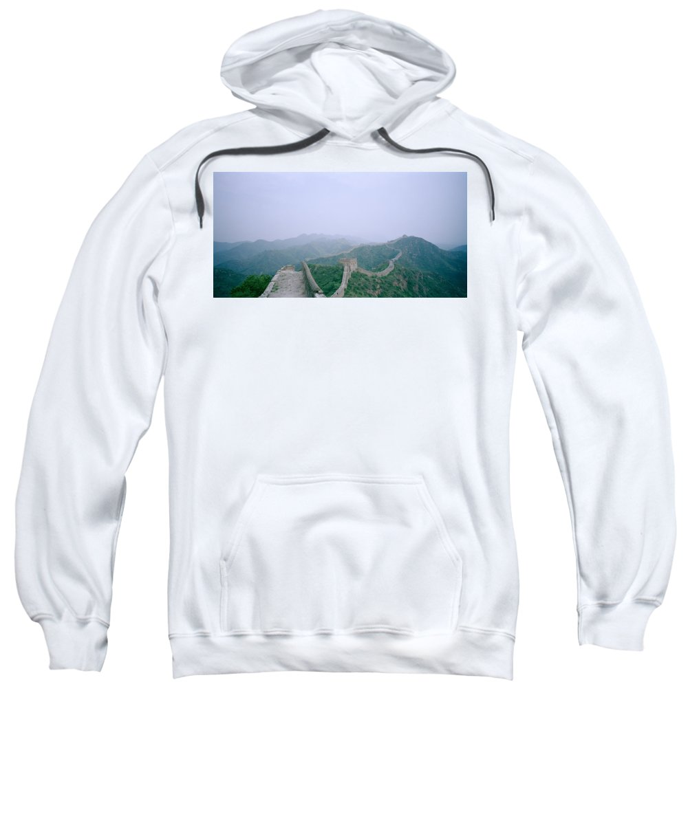 Great Wall Of China Sweatshirt featuring the photograph The Great Wall Of China by Shaun Higson
