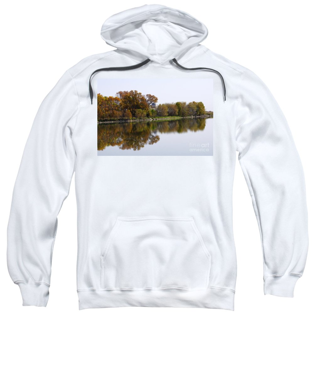 Lake Sweatshirt featuring the photograph The Old Fishing Hole by Lori Tordsen