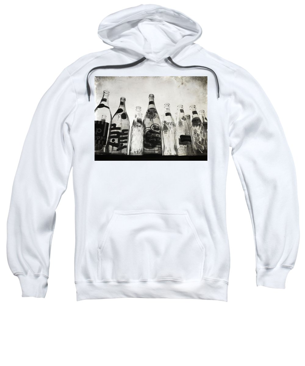 Bottles Sweatshirt featuring the photograph The Refund by The Artist Project
