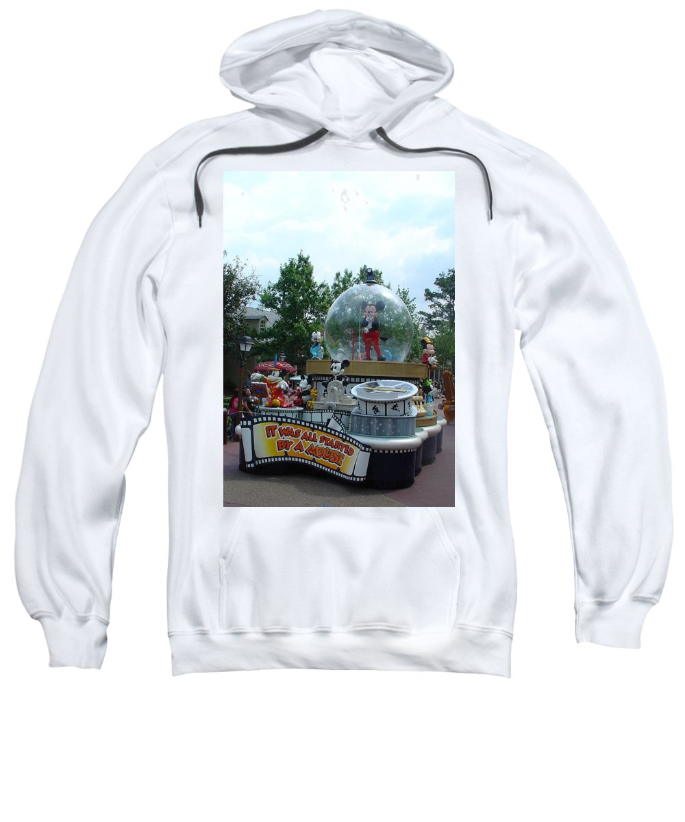 Dreams Come True Parade Sweatshirt featuring the photograph The Rest Is Magic by David Nicholls
