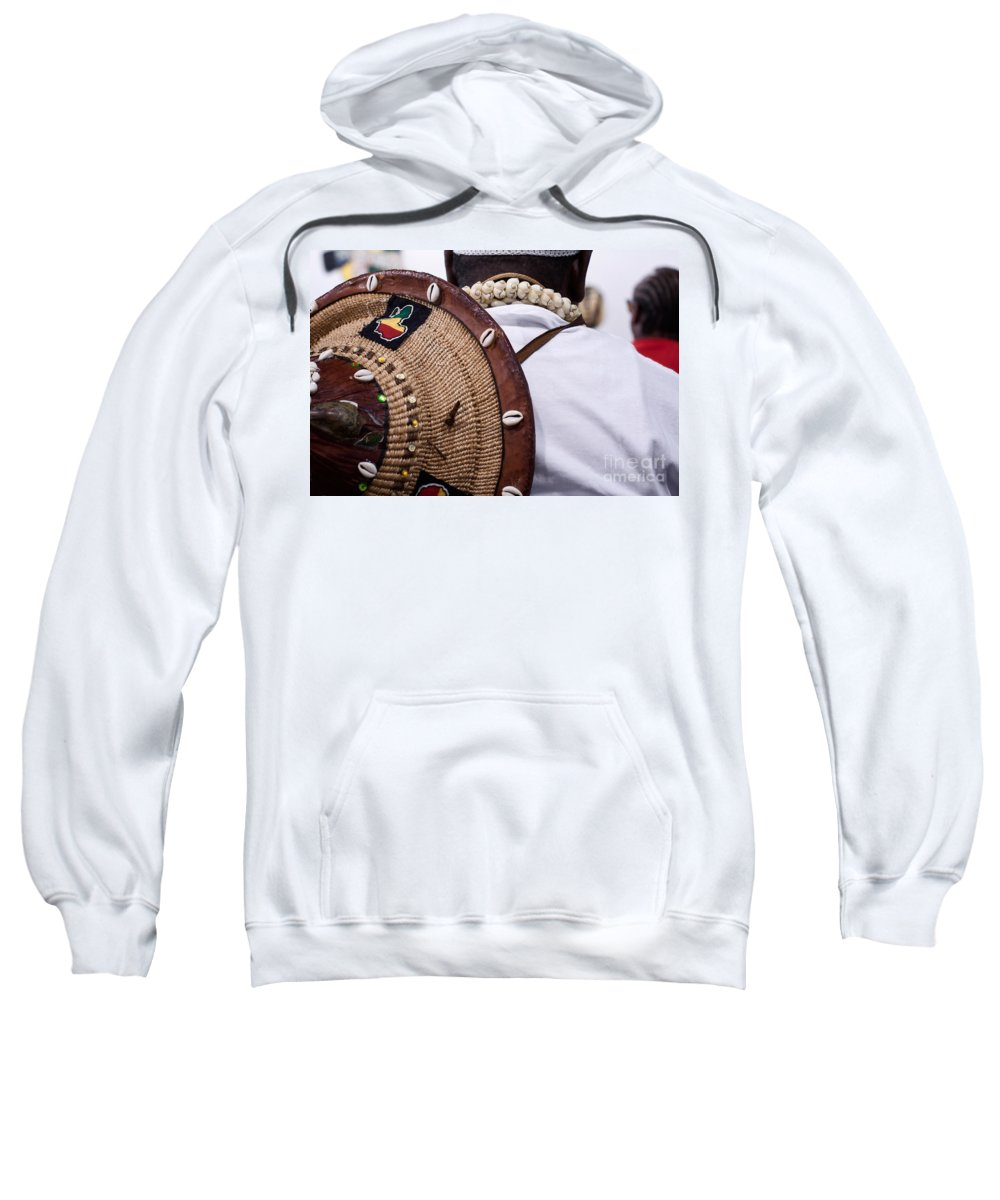 Hat Sweatshirt featuring the photograph The Tradition by Mary Smyth