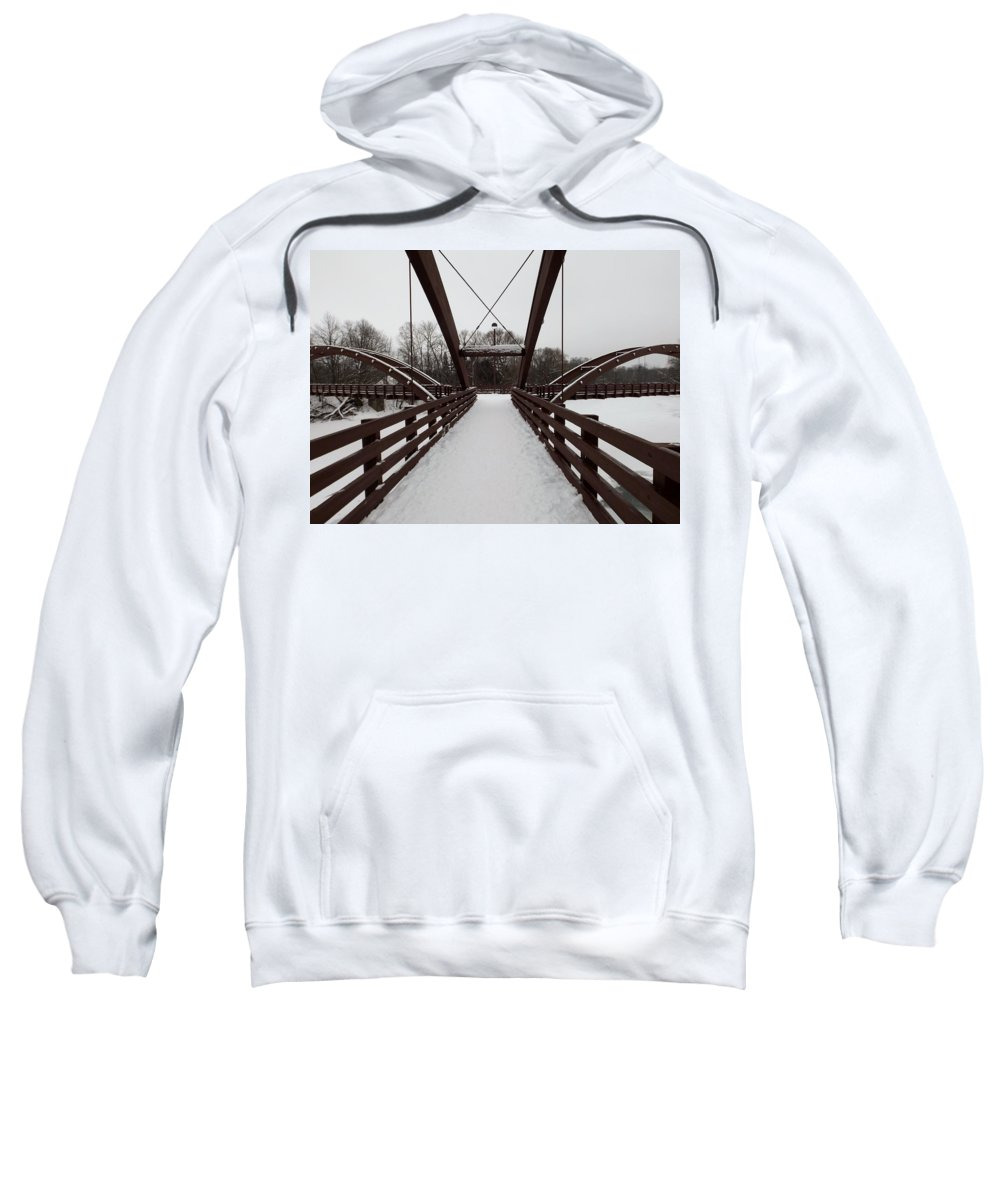 Tridge Sweatshirt featuring the photograph The Tridge by Linda Kerkau