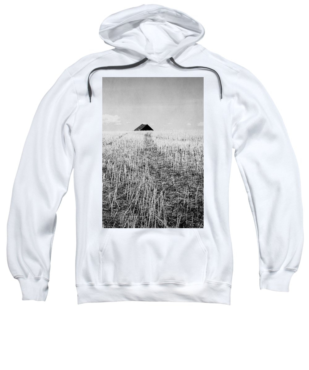 Landscapes Sweatshirt featuring the photograph Thistles In Deed by The Artist Project