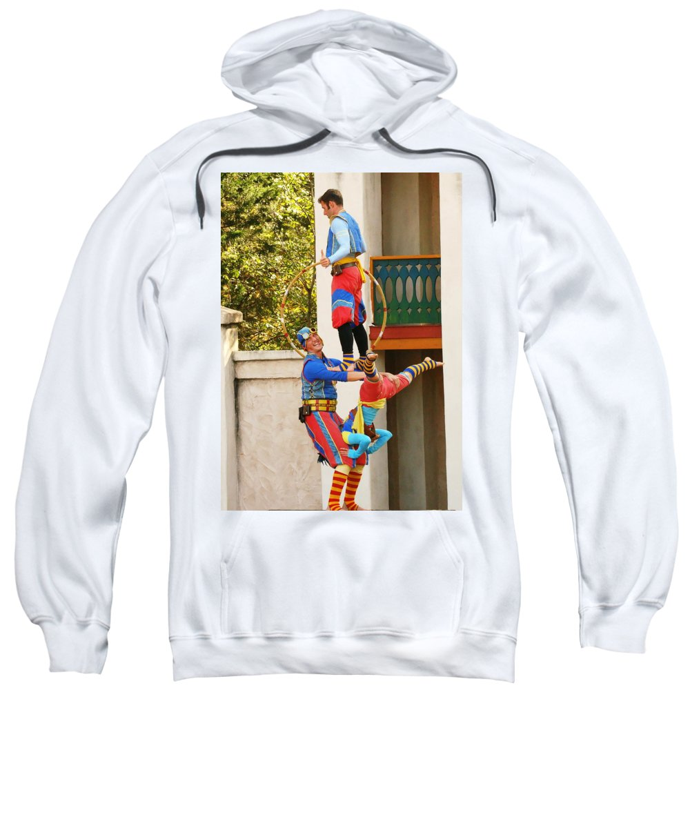 Fine Art Sweatshirt featuring the photograph Those Awkward Moments by Rodney Lee Williams