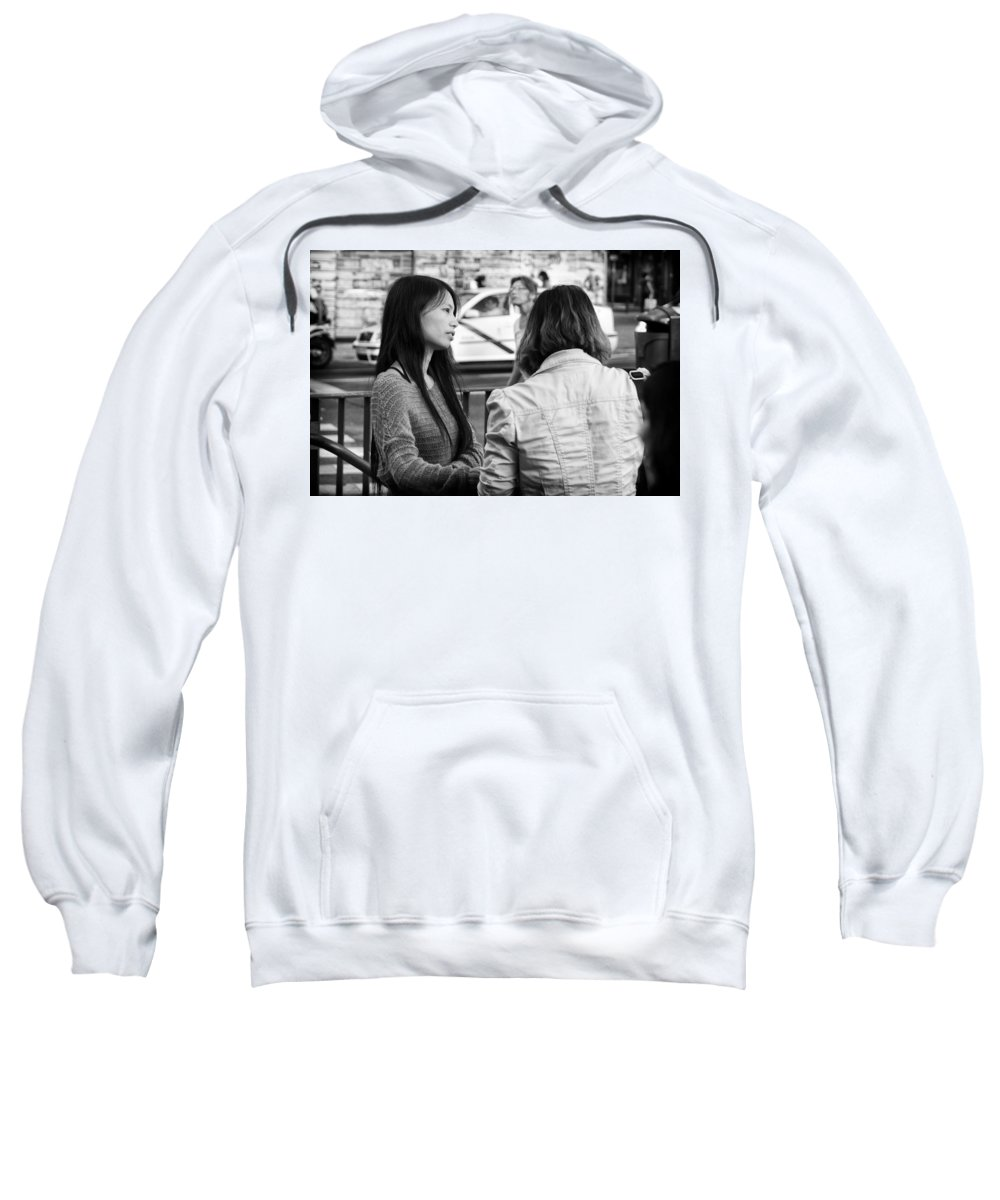 Thoughtful Sweatshirt featuring the photograph Thoughtful by Pablo Lopez