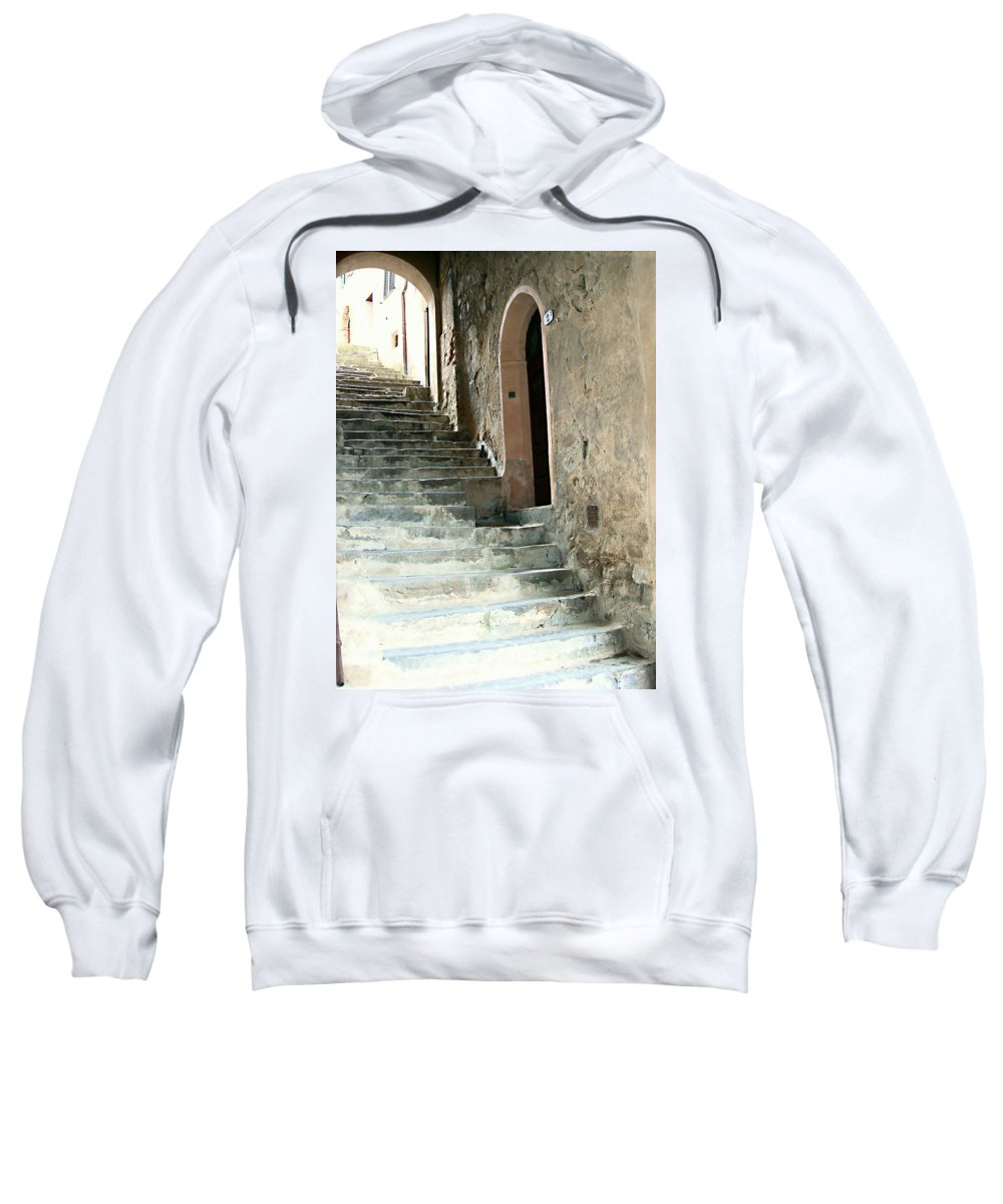 Time-worn Passage Sweatshirt featuring the photograph Time-worn Passage by Ellen Henneke