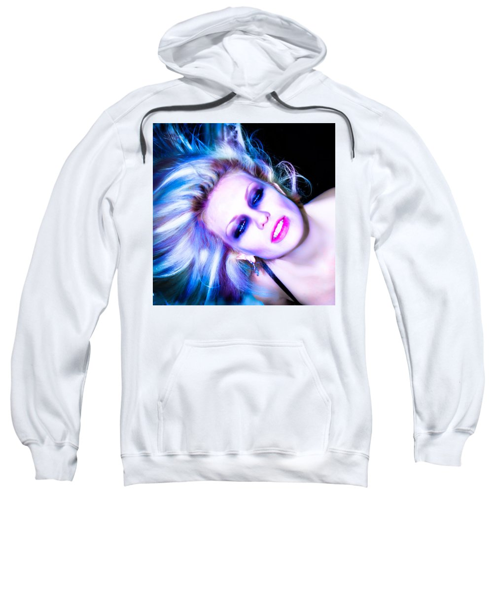 Attractive Sweatshirt featuring the photograph Trance by Sotiris Filippou
