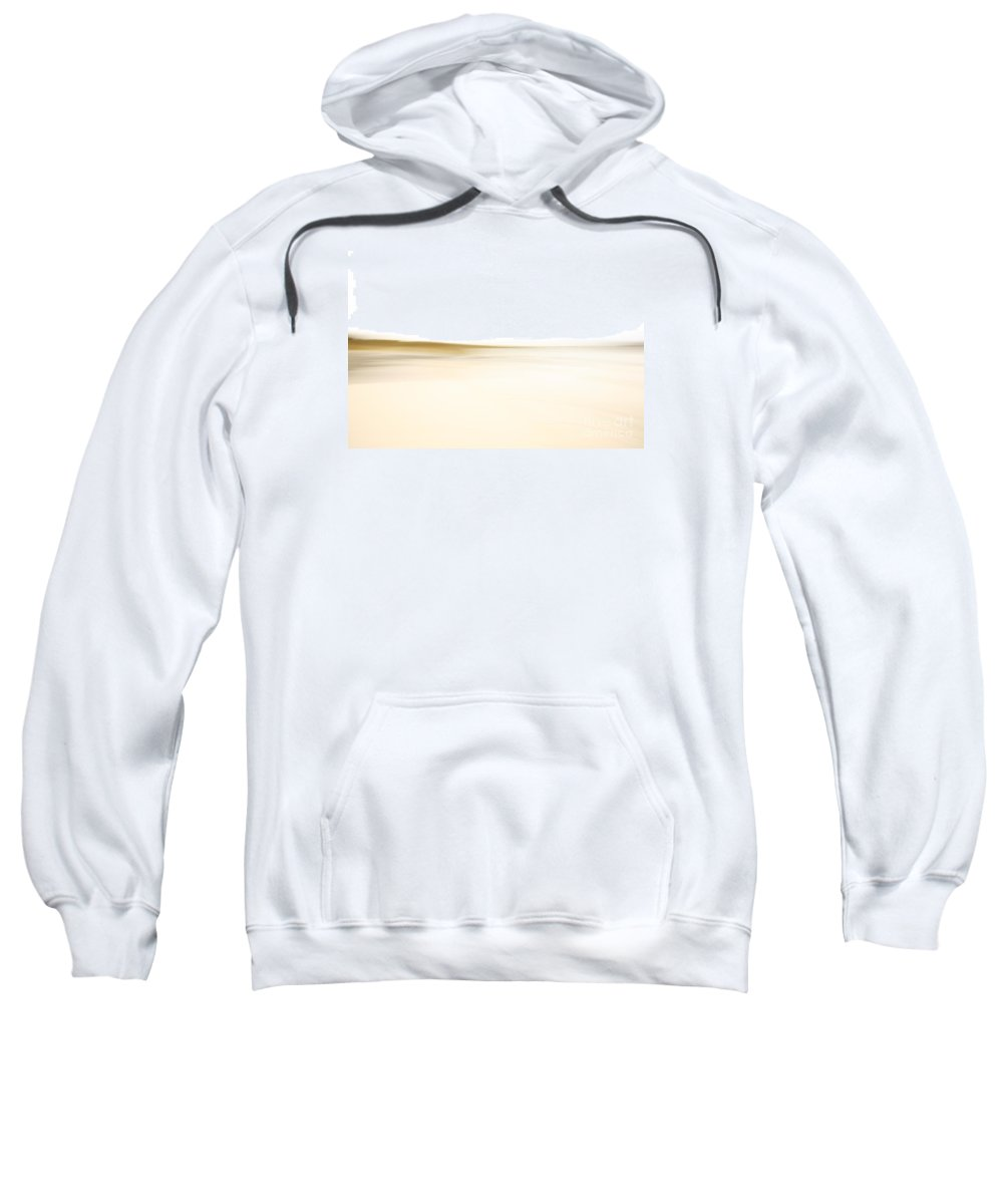 Abstract Sweatshirt featuring the photograph Tranquil Abstract Landscape by Deborah Benbrook