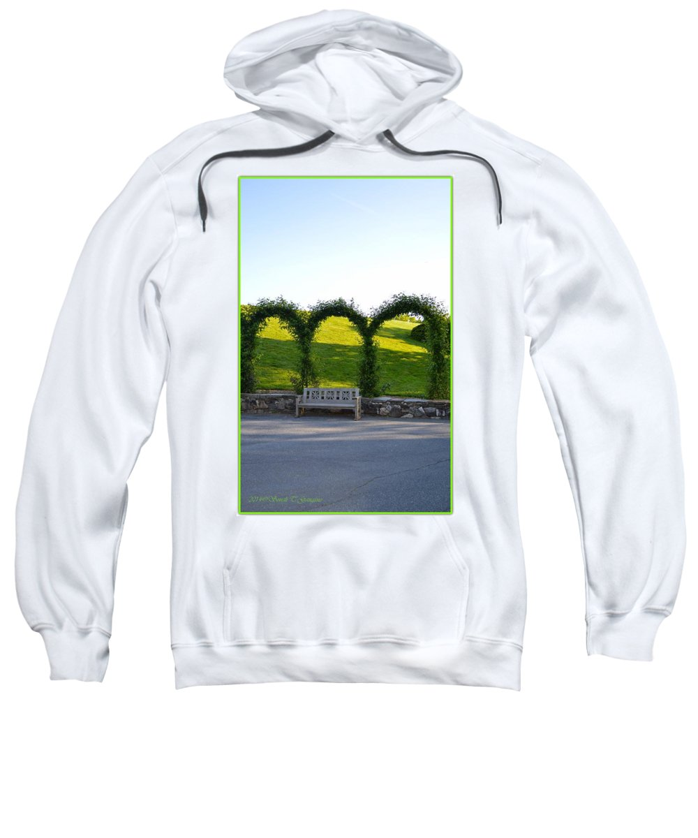 Tranquil Place Sweatshirt featuring the photograph Tranquil Moment by Sonali Gangane