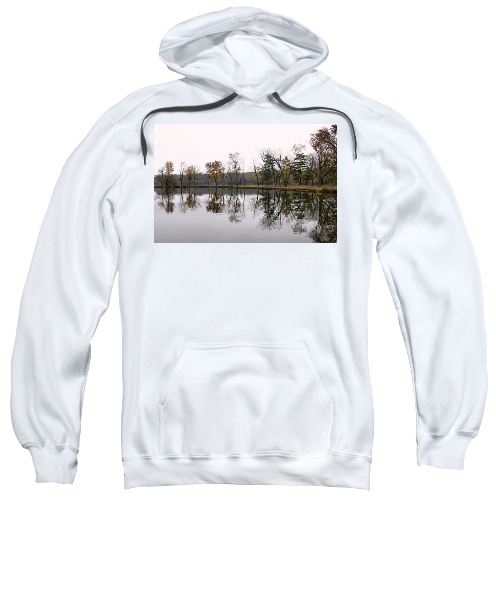 Lake Sweatshirt featuring the photograph Tranquil Reflections by Ely Arsha