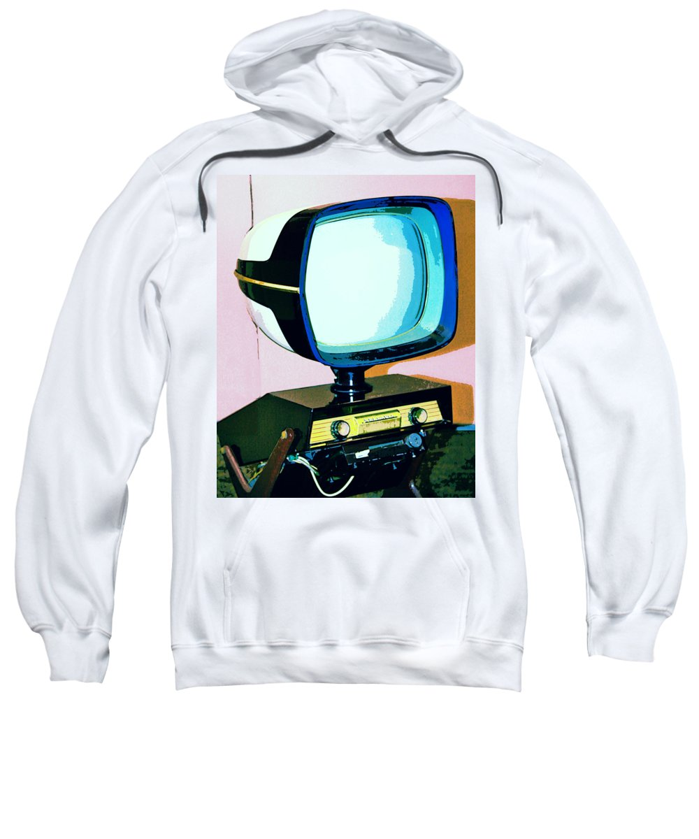 Modernism Sweatshirt featuring the photograph Tv Land Palm Springs by William Dey