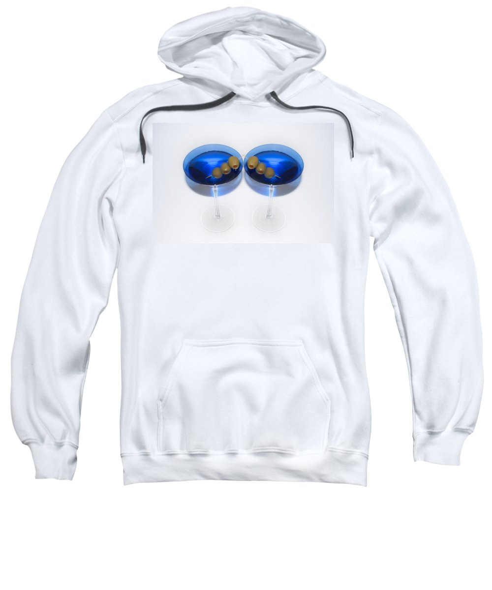 Two Sweatshirt featuring the photograph Two Drink Minimum by Bill Cannon