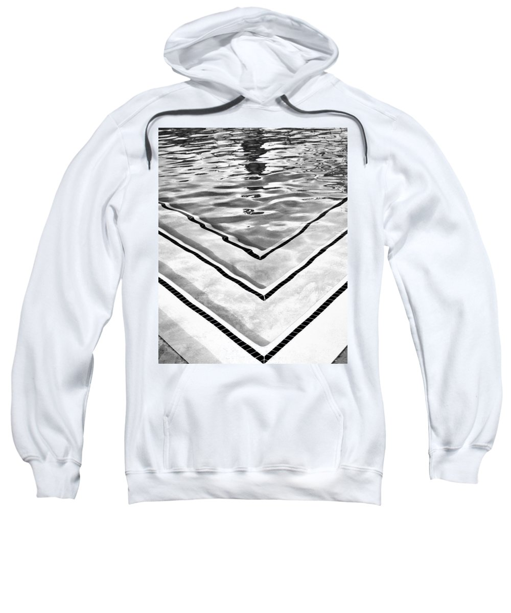 V Sweatshirt featuring the photograph V Shape 2 Palm Springs by William Dey