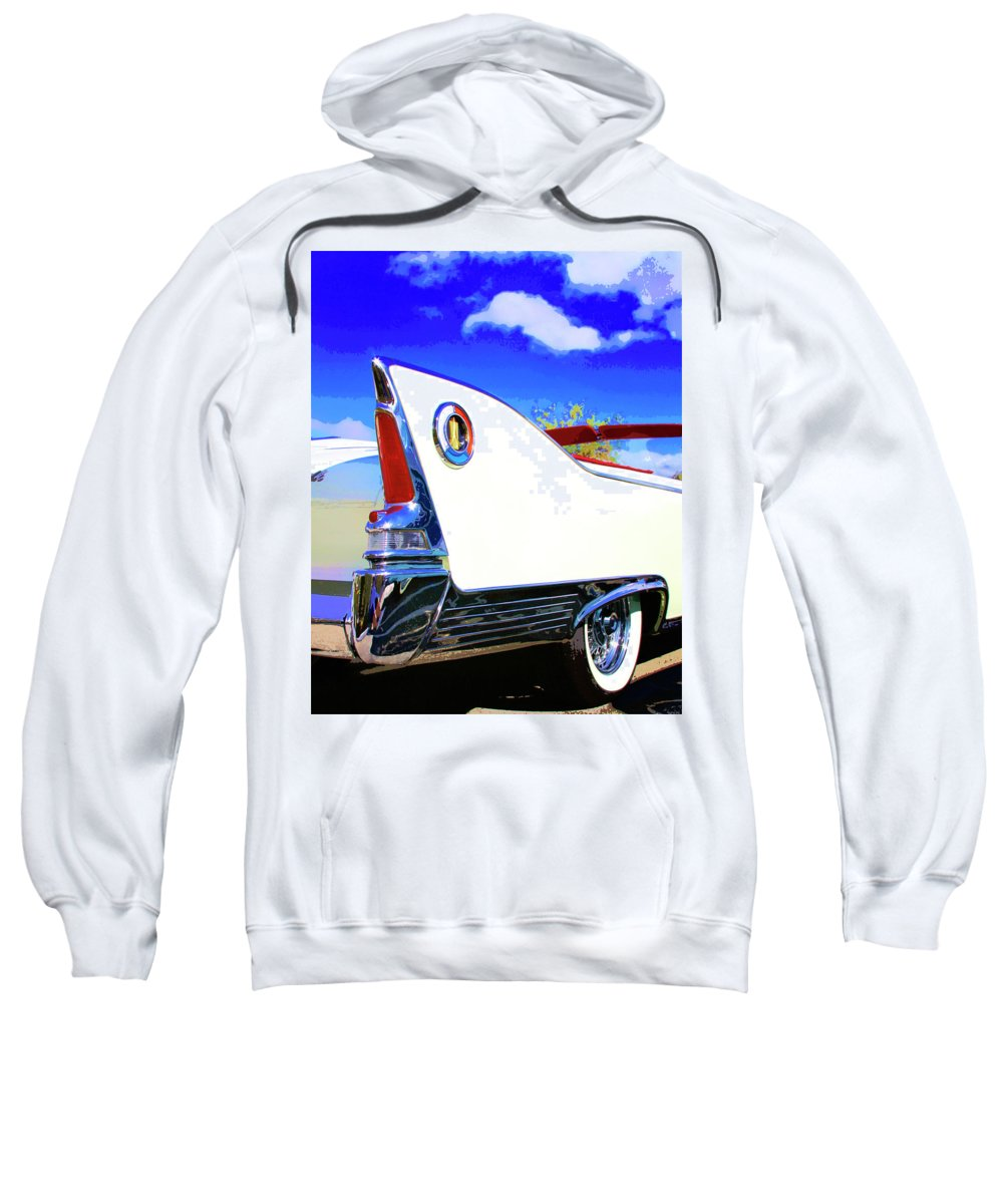 Car Auction Sweatshirt featuring the photograph Vehicle Launch Palm Springs by William Dey