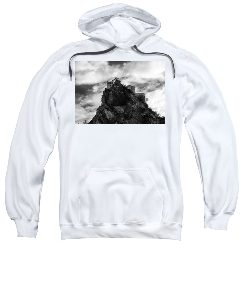 Landscape Sweatshirt featuring the photograph Italian Landscape - Where Dragons Fly by Andrea Mazzocchetti