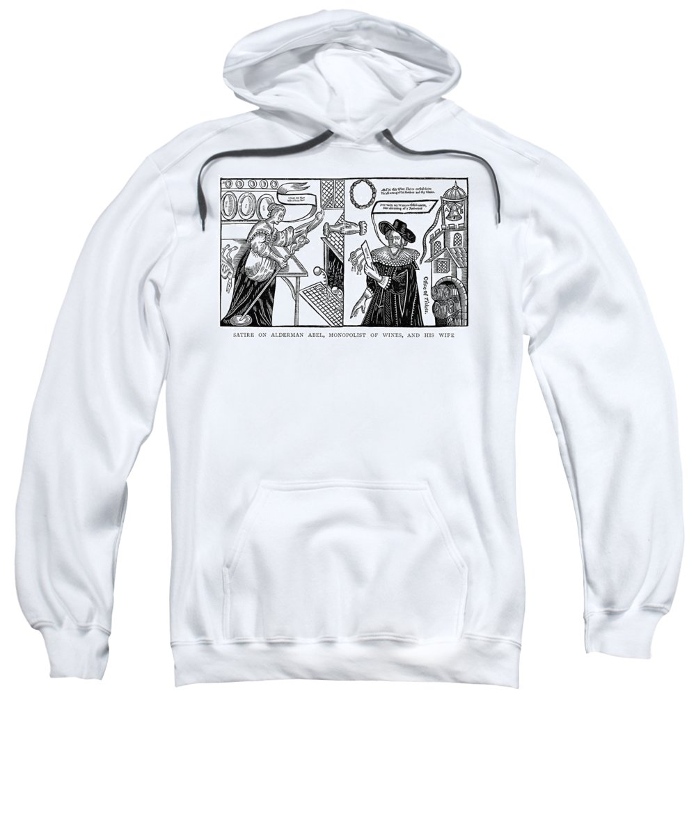 1641 Sweatshirt featuring the painting William Abell (c1584-1655) by Granger