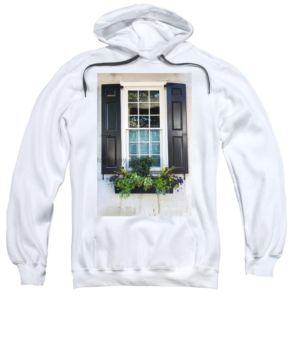 Window Sweatshirt featuring the photograph Window Xi by Bruce Bain