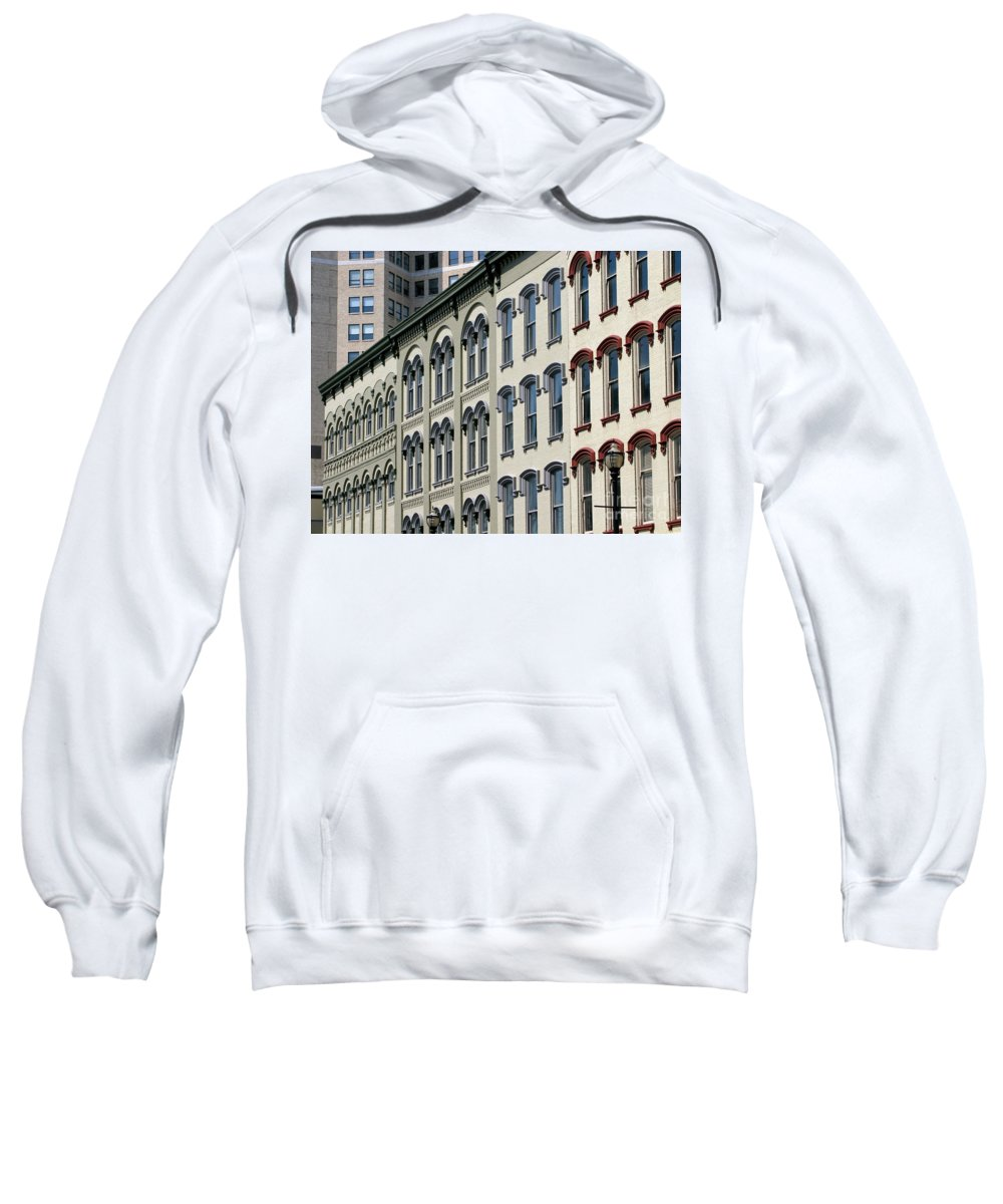 Windows Sweatshirt featuring the photograph Windows by Ann Horn