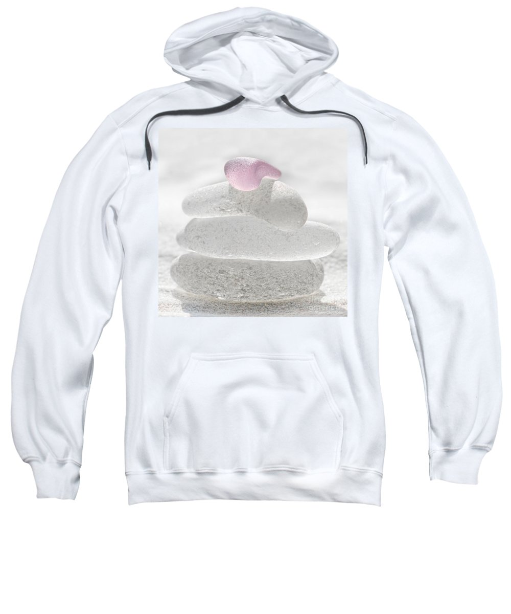 Sea Glass Sweatshirt featuring the photograph Winter Dreams by Barbara McMahon