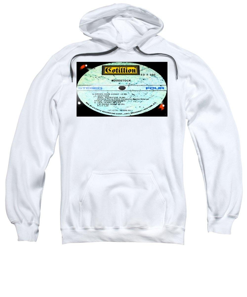 Woodstock Sweatshirt featuring the photograph Woodstock Side 4 by Marcello Cicchini