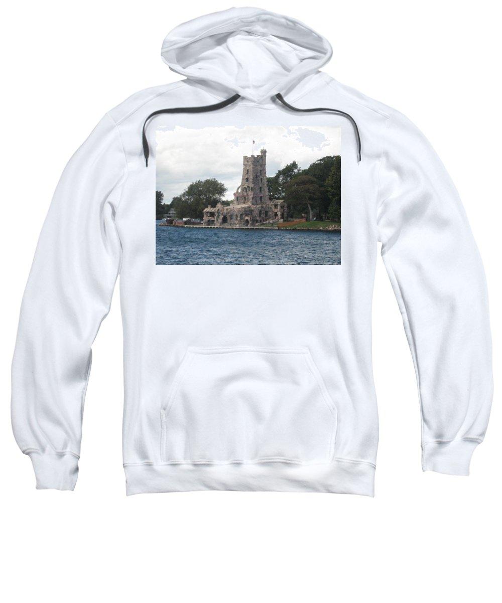 Island Castle Sweatshirt featuring the photograph Island Castle by Sonali Gangane