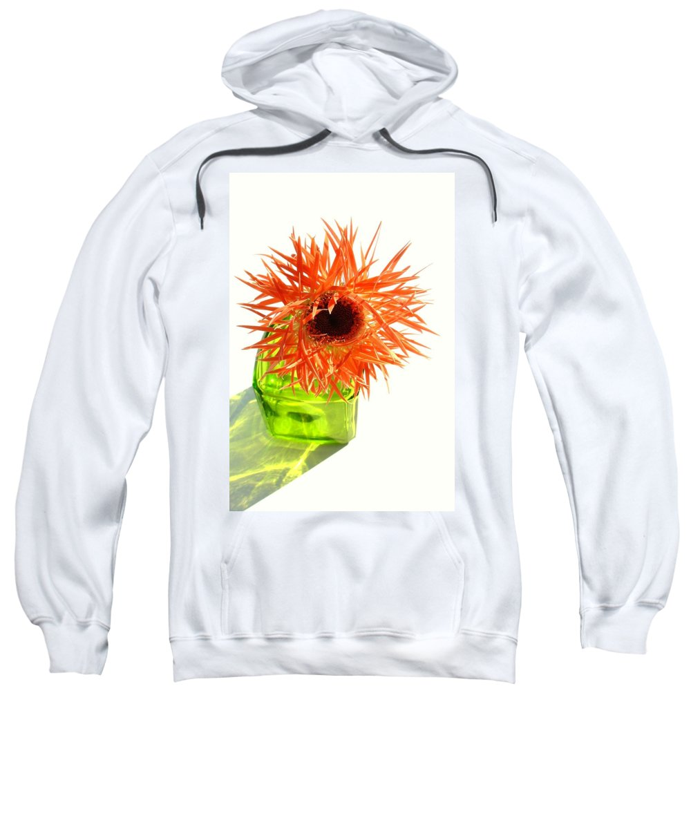 Gerbera Photographs Sweatshirt featuring the photograph 0690c-001 by Kimberlie Gerner