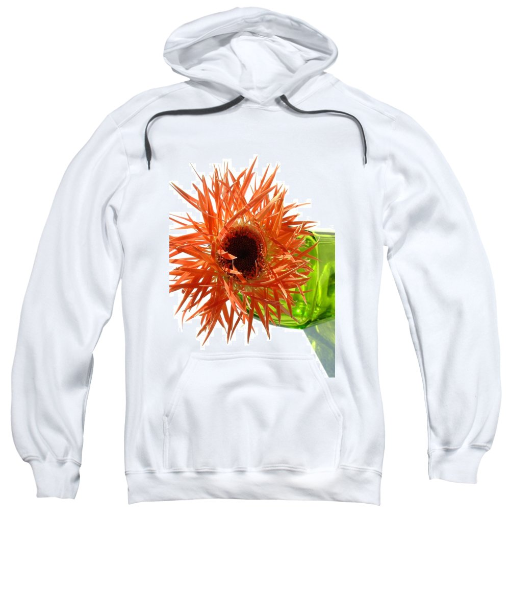 Gerbera Photographs Sweatshirt featuring the photograph 0690c-005 by Kimberlie Gerner