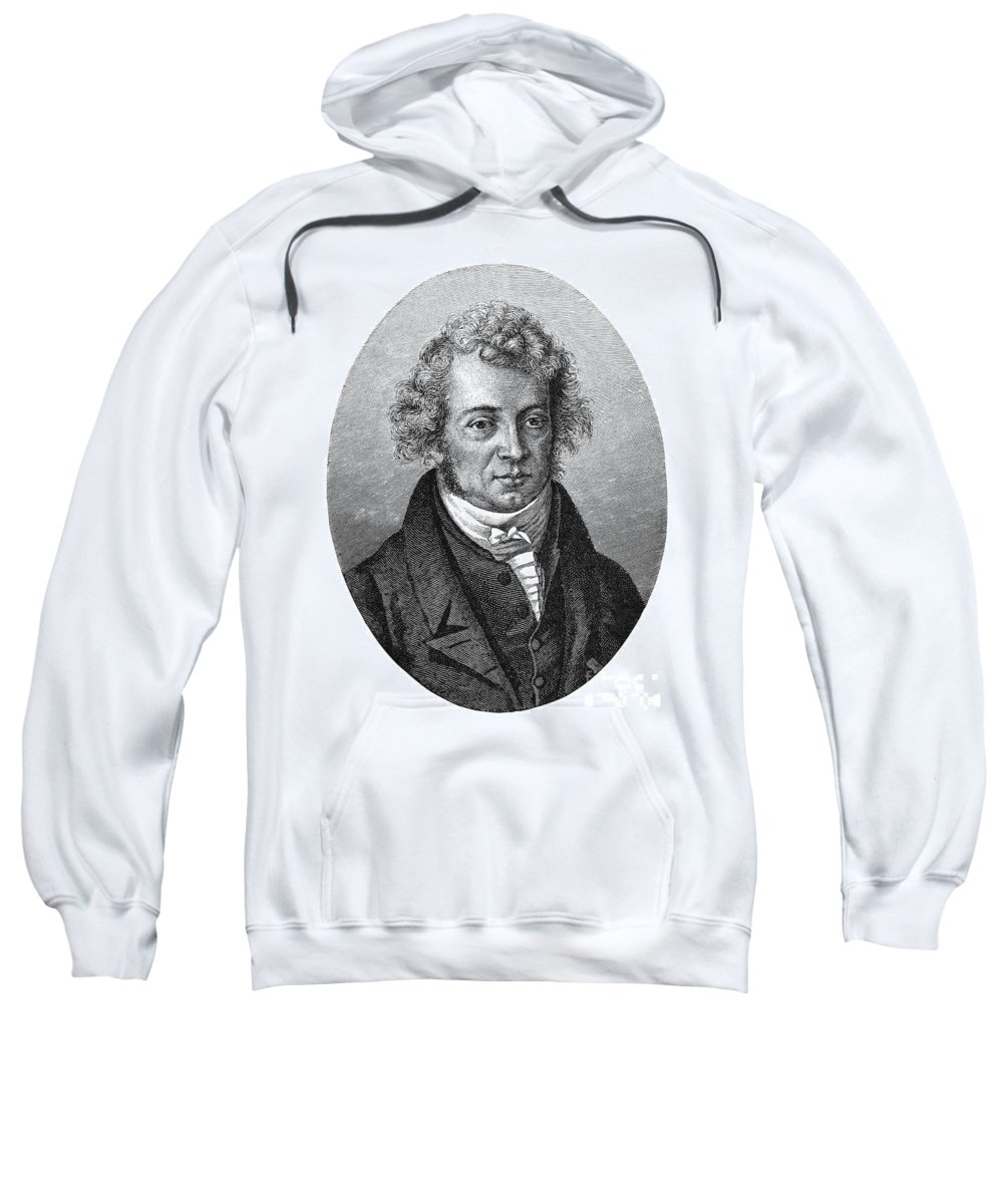 18th Century Sweatshirt featuring the photograph Andre Marie Ampere by Granger