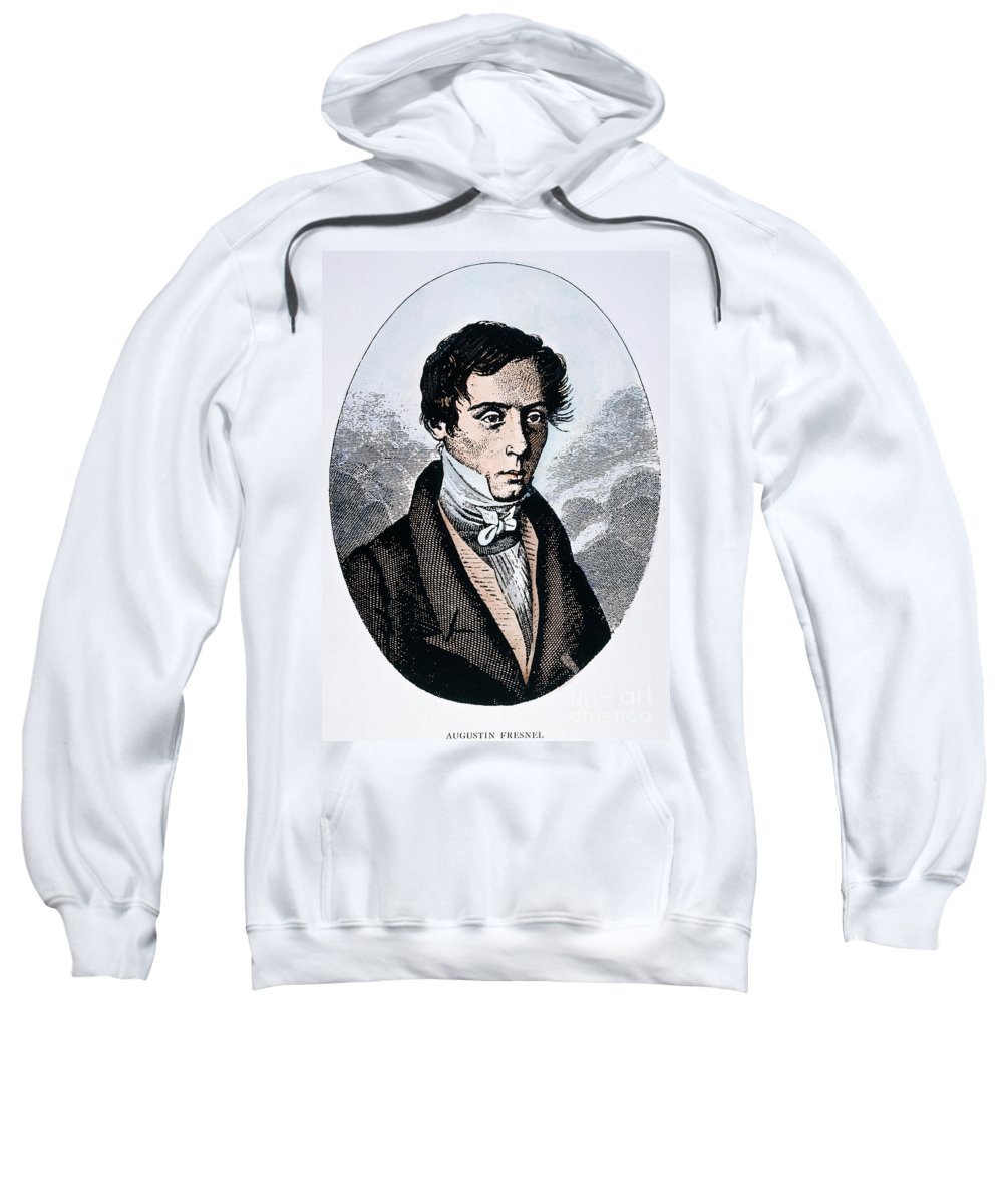 19th Century Sweatshirt featuring the photograph Augustin-jean Fresnel by Granger