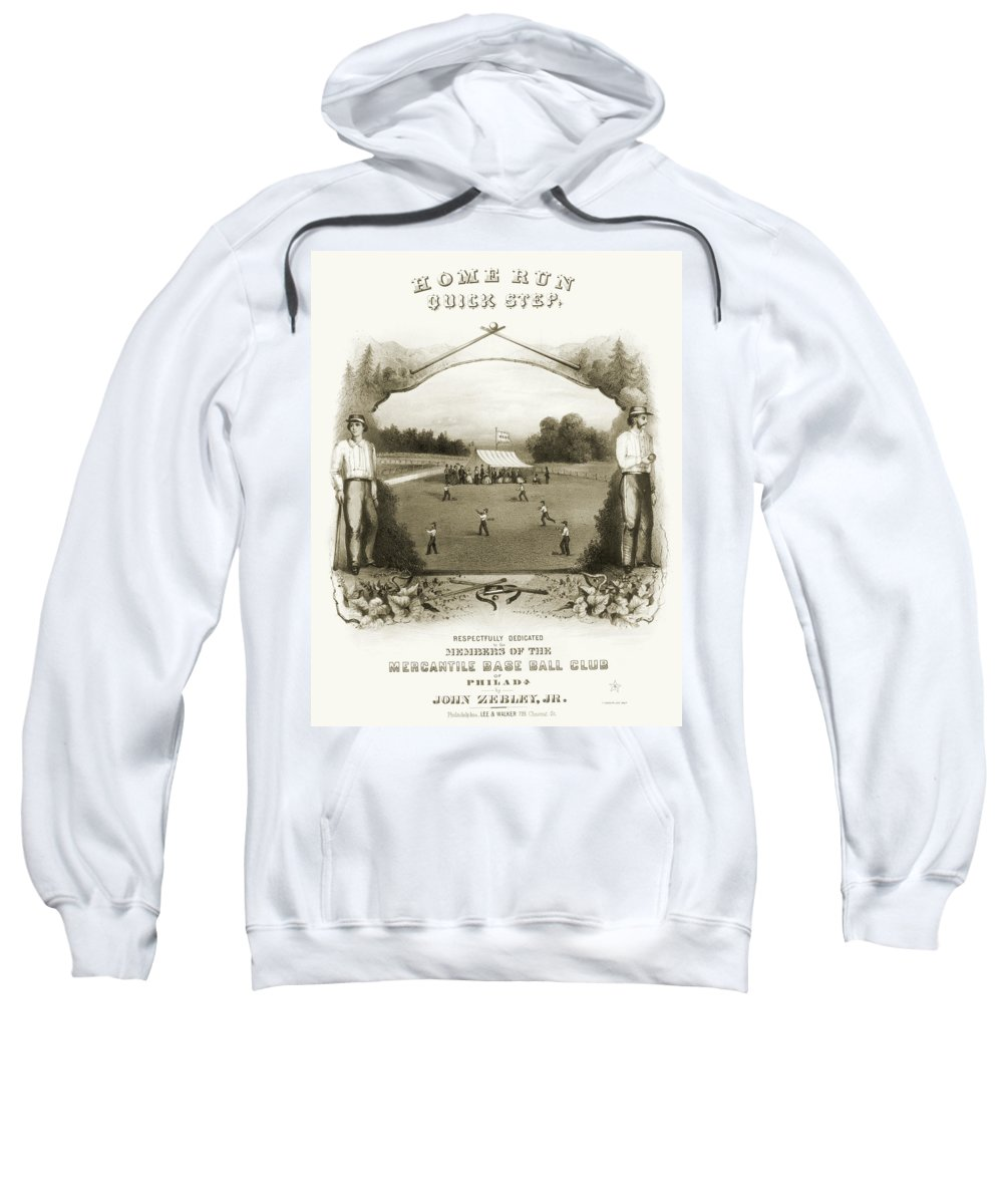 1861 Sweatshirt featuring the photograph Baseball, 1861 by Granger
