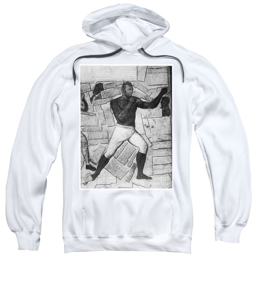 1824 Sweatshirt featuring the photograph Thomas Molineaux by Granger