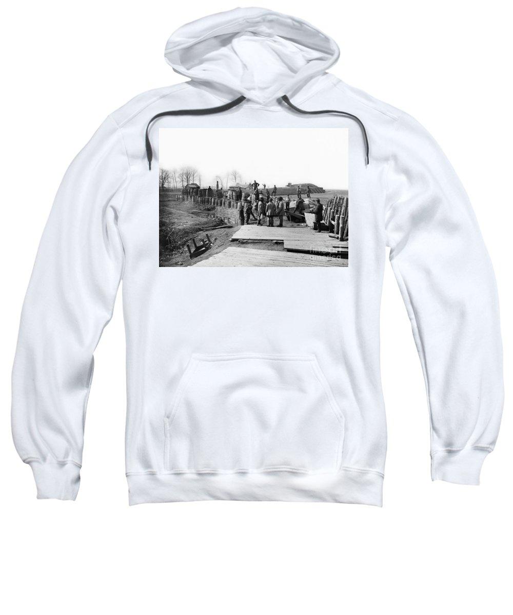 1862 Sweatshirt featuring the photograph Civil War: Bull Run, 1862 by Granger