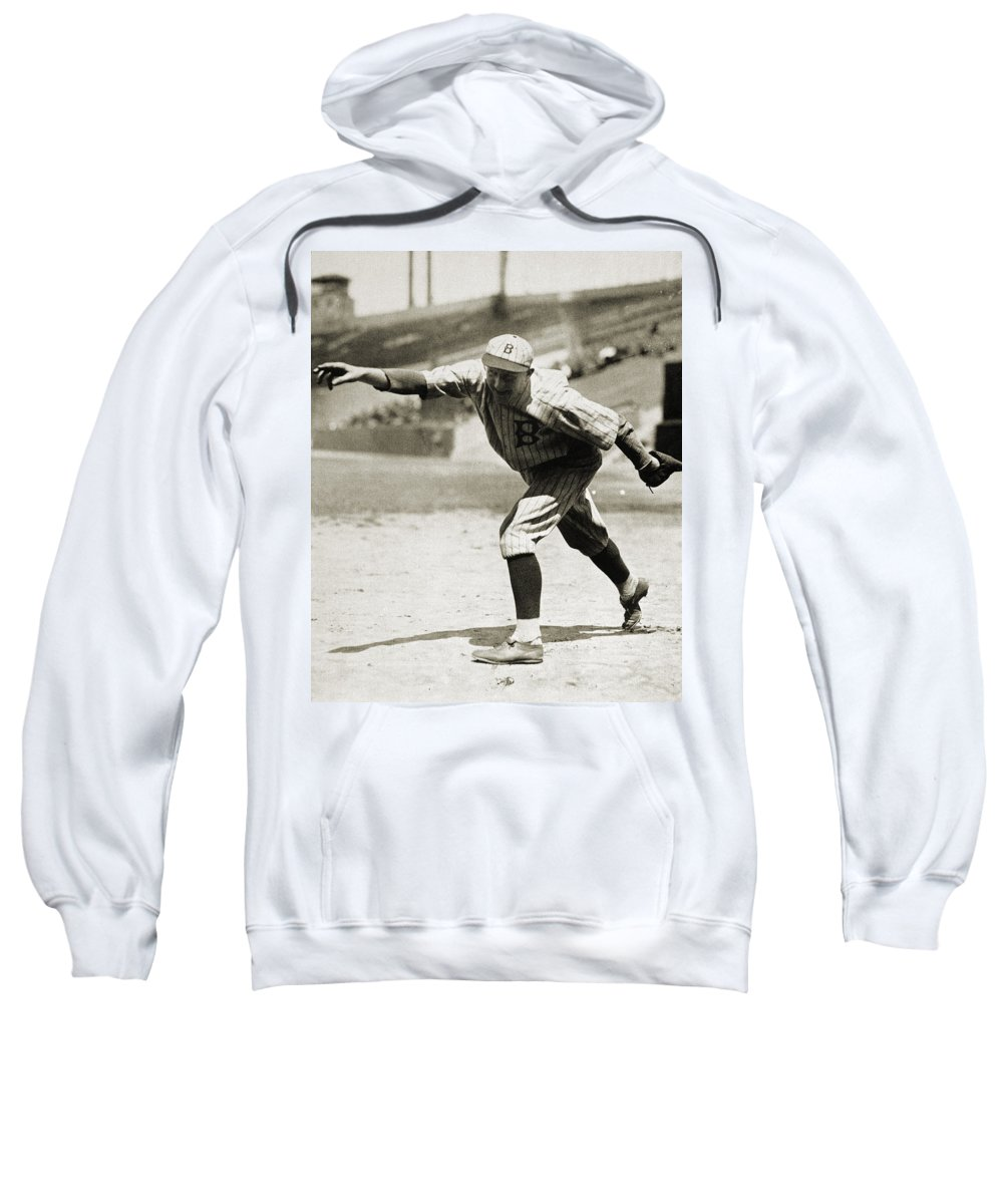 1920s Sweatshirt featuring the photograph Dazzy Vance (1891-1961) by Granger