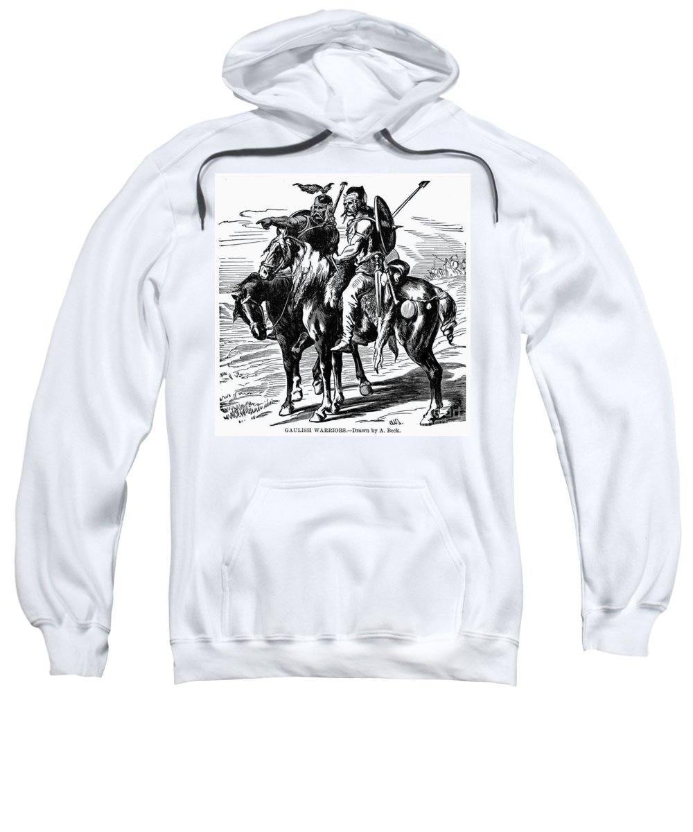 1st Century B.c Sweatshirt featuring the photograph Gaulish Warriors by Granger