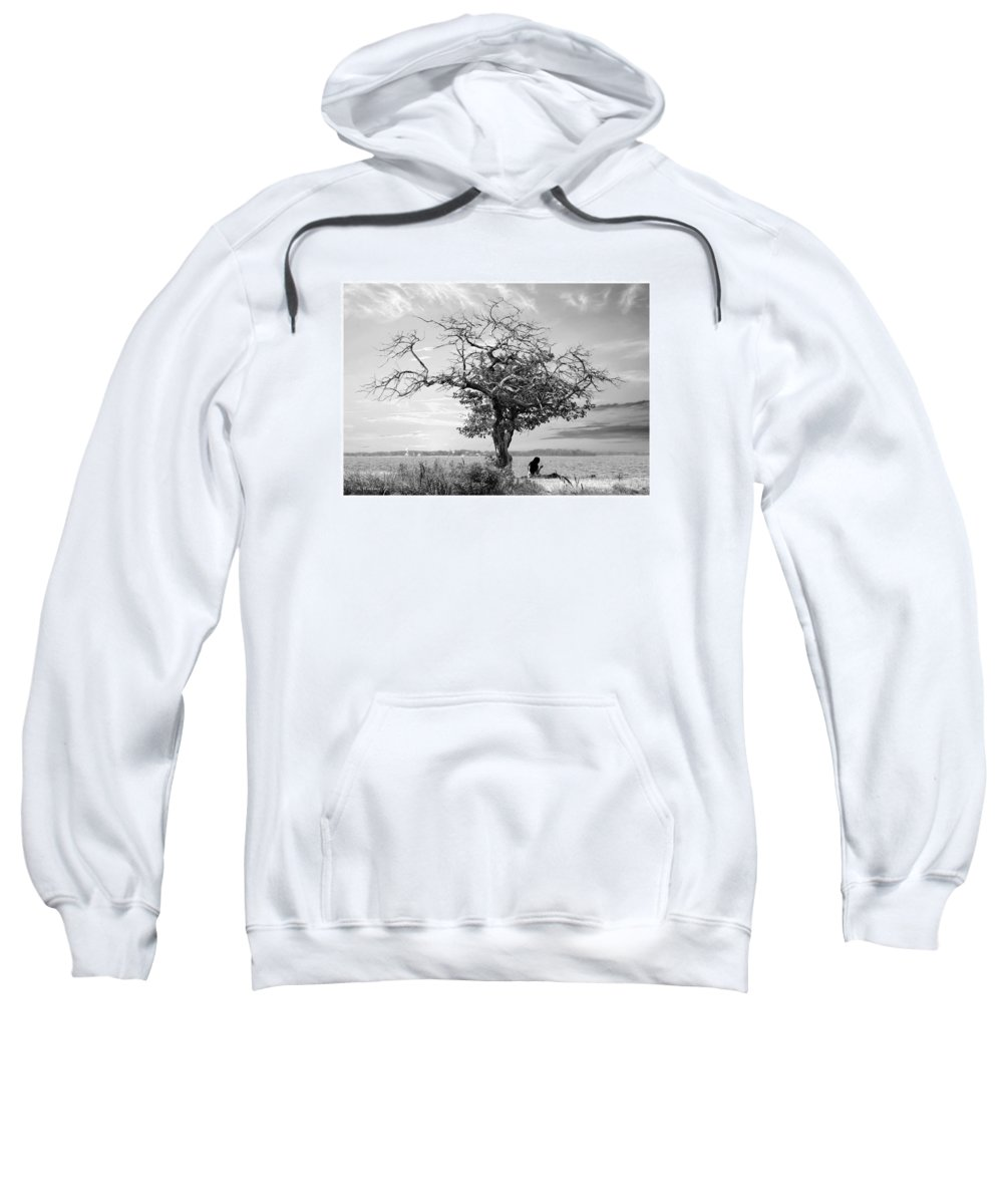 2d Sweatshirt featuring the photograph Introspective by Brian Wallace