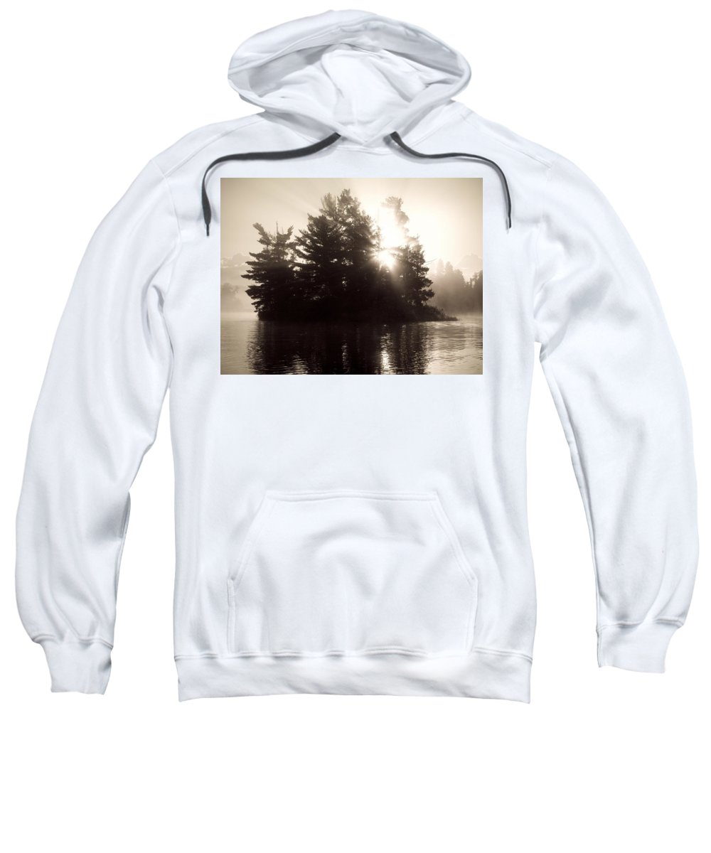 Atmospheric Sweatshirt featuring the photograph Lake Of The Woods, Ontario, Canada by Keith Levit