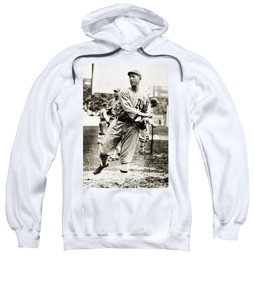 1910s Sweatshirt featuring the photograph Leslie Bush (1892-1974) by Granger