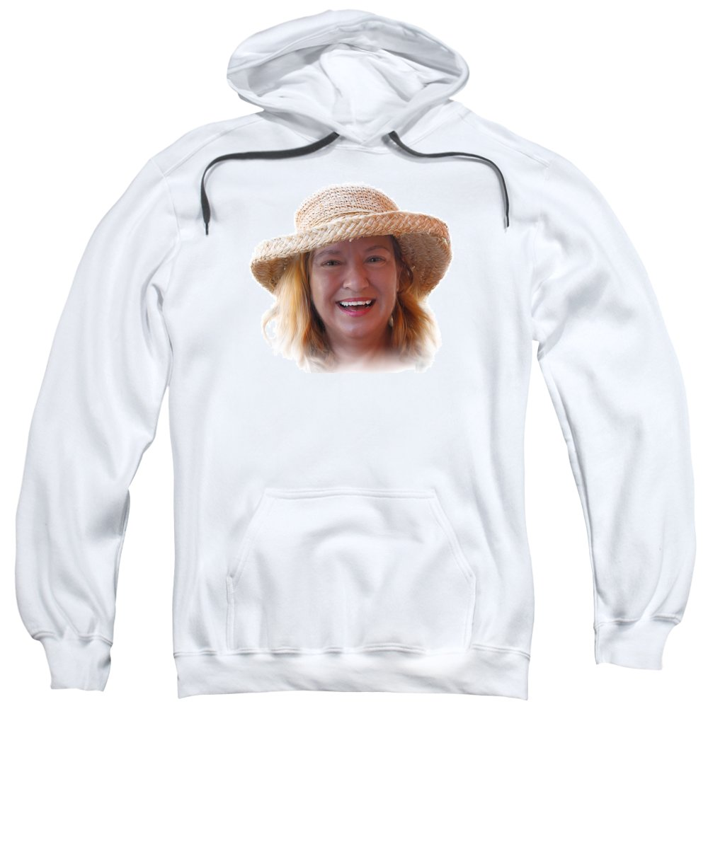 Acrylic Prints Sweatshirt featuring the photograph Michelle by John Herzog