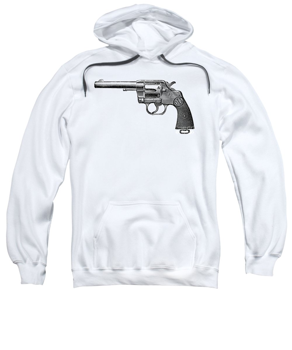 19th Century Sweatshirt featuring the photograph Revolver, 19th Century by Granger