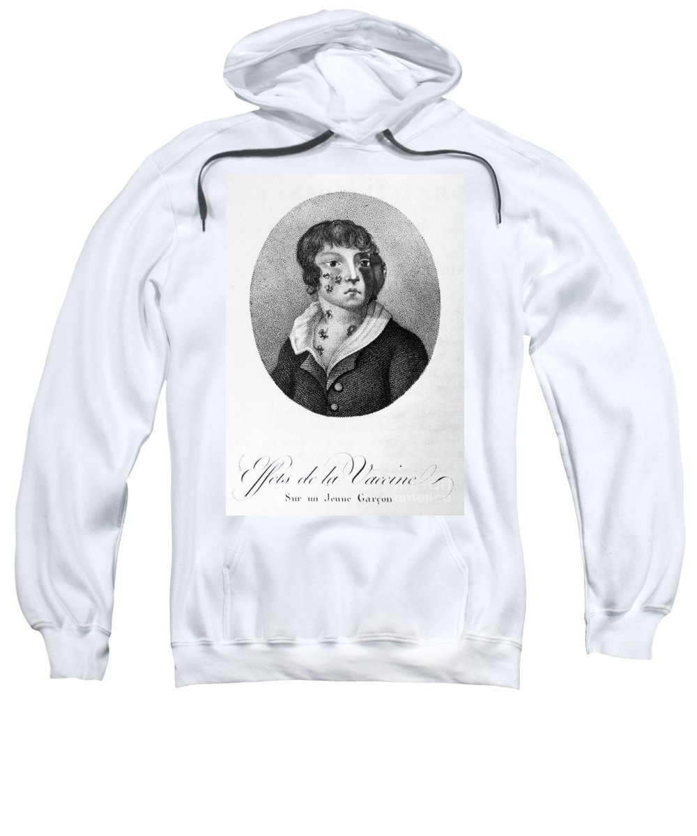 1807 Sweatshirt featuring the photograph Smallpox Vaccination, 1807 by Granger