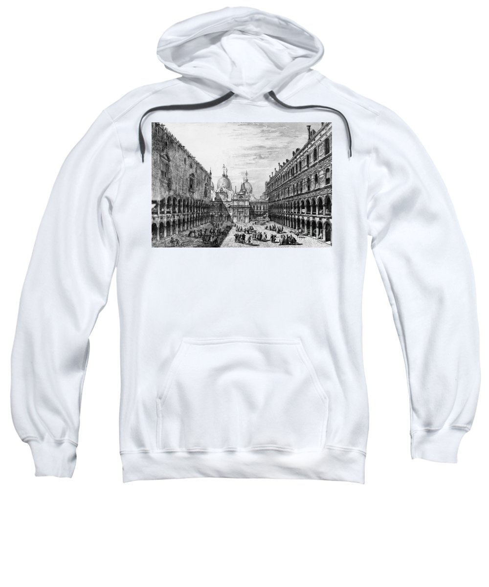 18th Century Sweatshirt featuring the photograph Venice: Saint Marks by Granger