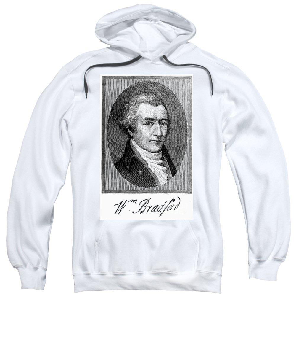 18th Century Sweatshirt featuring the photograph William Bradford by Granger